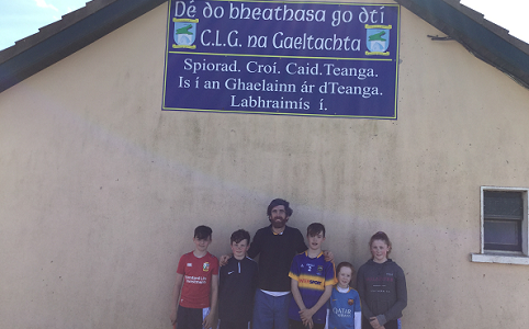 Weekend Gaeltacht Trip for Families, April 2017