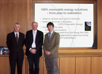 Brian Fitzgerald, Prof Lund and Prof Martin Leahy