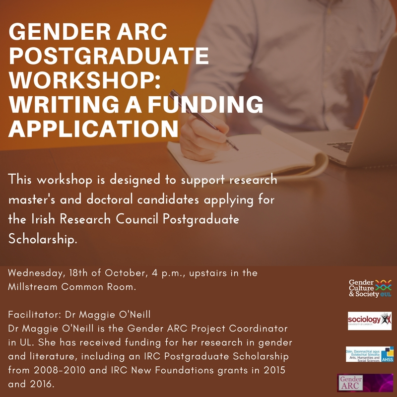 Gender ARC Postgraduate Workshop