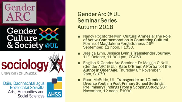 Seminar Series Autumn 2018