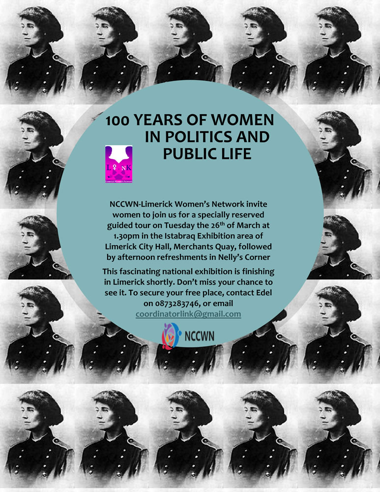 100 years of women in public life and politics