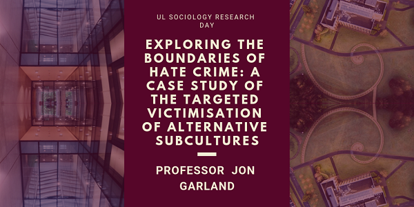 Exploring the boundaries of hate crime: A case study of the targeted vistimisation of alternative subcultures