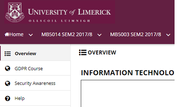 Cyber Security Awareness Training | University of Limerick