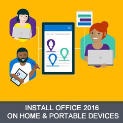 Install Office 2016 on Mobile Devices