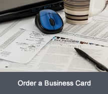 Order a Business Card