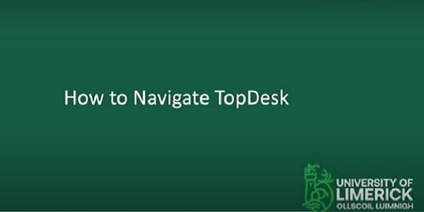 How to Navigate Topdesk