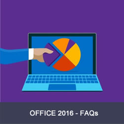 FAQs Office 2016