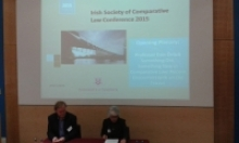 Irish society of Comparative Law Conference