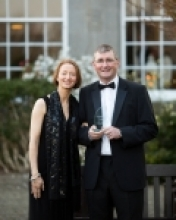 Professor Shane Kilcommins and his wife