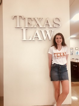 Third Year Law Plus Student Studies in Texas
