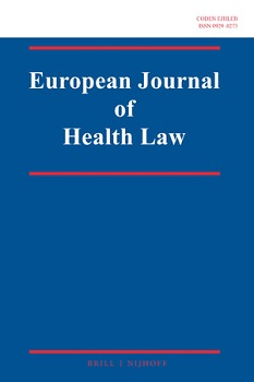Article by Aoife Finnerty published in the European Journal of Health Law
