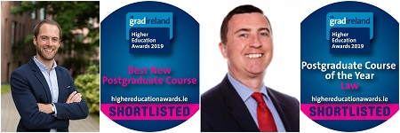 Shortlisted for gradireland 'Higher Education Awards 2019'