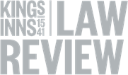Editorial Board of the King's Inns Law Review KILR