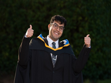 International Students Graduate with Law Masters