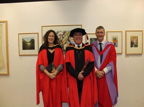 Graduations 2017 -  Richard Roche PhD Law