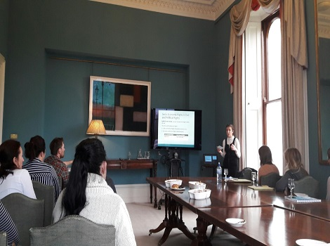 UL Law Students Present Research to Local Traveller Organisation