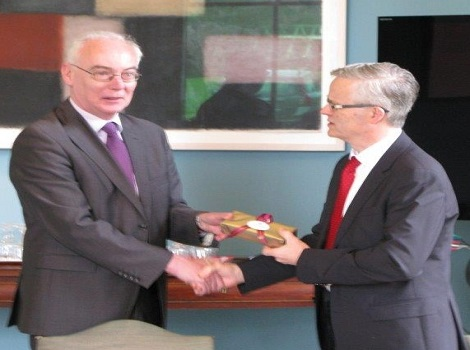 Law Reform Commissioner - Ray Byrne visit to School of Law