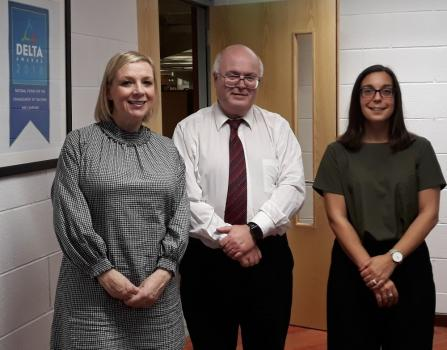 Visit from the Centre for Youth & Criminal Justice Scotland