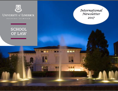 School of Law - International Newsletter 2017