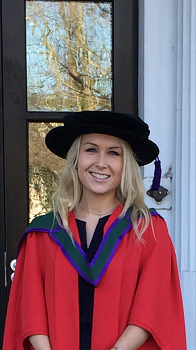 New Staff -Dr Lydia Bracken
