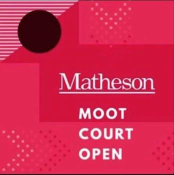 The UCC Matheson Moot Court Open Competition