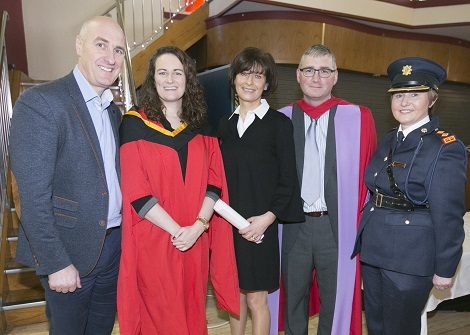 First Graduation Postgraduate Diploma in Serious Crime Investigation