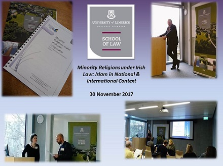 Minority Religions Symposium Hosted by School of Law, UL