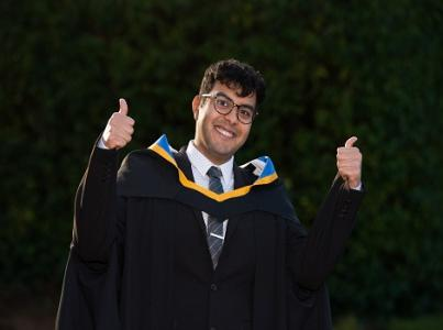 International students graduate with Law Masters from UL