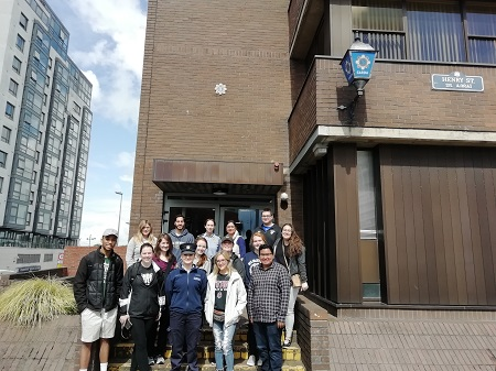 Tour of Henry Street Garda Station