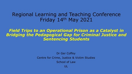 Teaching and Learning Conference Presentation