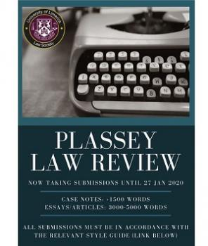 Plassey Law Review