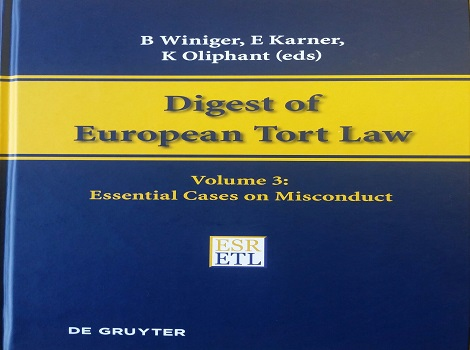 Digest of European Tort Law