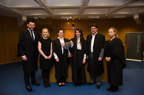 A and L Goodbody Moot Court Competition 2018