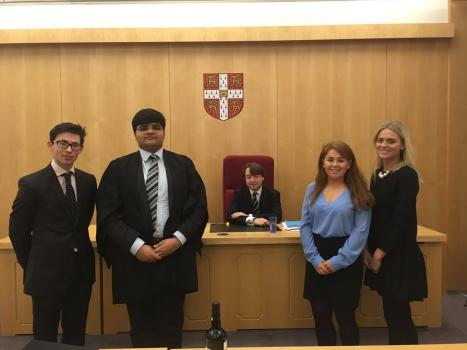 UL v Cambridge Moot Competition 2017