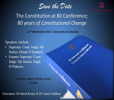 Constitution at 80 Conference on 11th November 2017