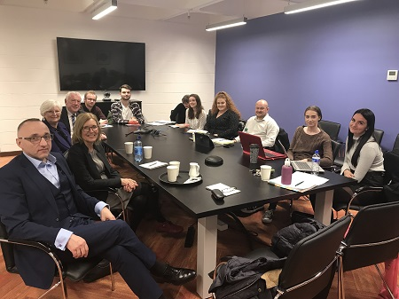 Victim Support Europe and Advic Meet with 4th Year Law Plus Students