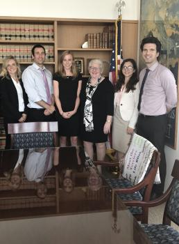 UL Law student completes Externship in the State Superior Court and the United States District Cou