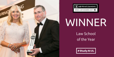 The School of Law wins Law School of the Year 2017