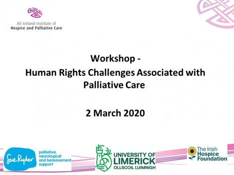 Human rights in palliative care