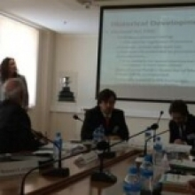 Dr. Eimear Spain- Workshop in Moscow