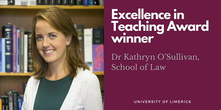 UL Excellence in Teaching Award 2018