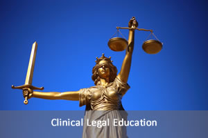Clincial Legal Education image of lady justice