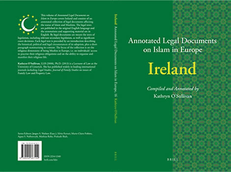 New Book: Annotated Legal Documents on Islam in Europe: Ireland (Brill) (2018)