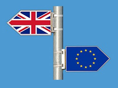 School of Law, image of UK and EU flags denoting Brexit