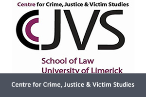 Logo for the Centre for Crime, Justice & Victim Studies