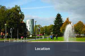 Link to location of the School of Law, University of Limerick