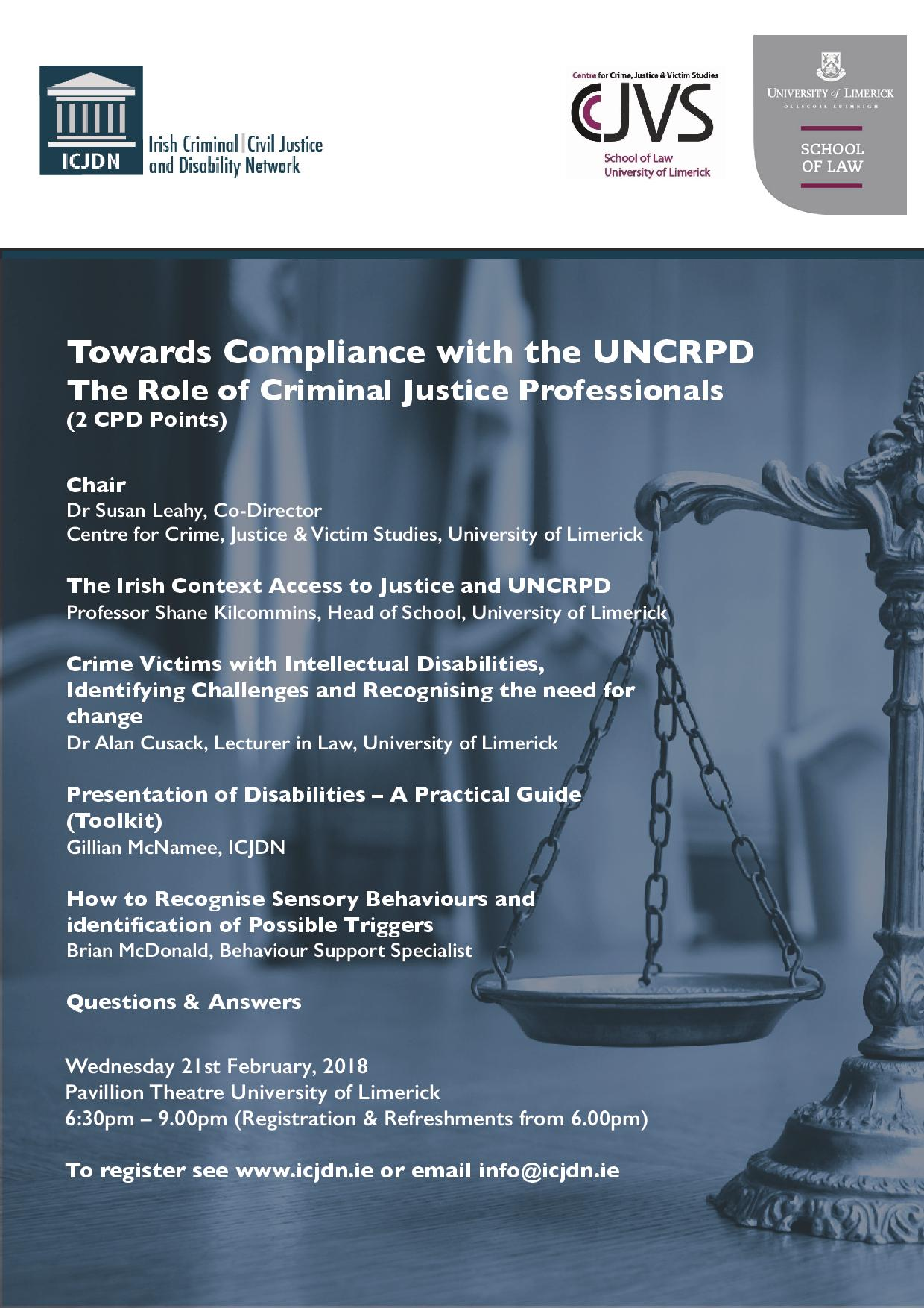Towards Compliance with the UNCRPD
