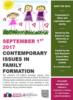Contemporary Issues in Family Formation Conference
