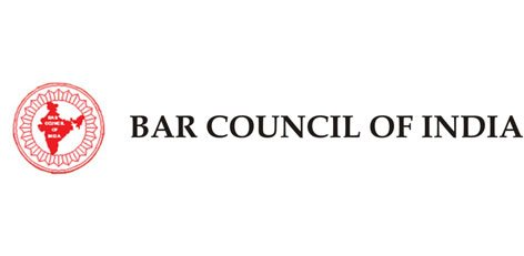 Logo for the bar council of India