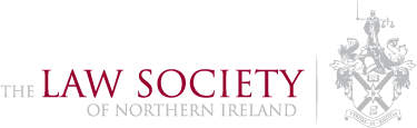 Logo for the law society of northern ireland